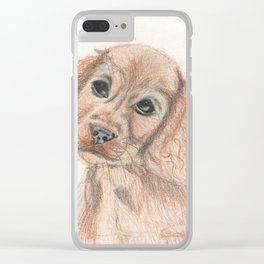 Please love me! Clear iPhone Case