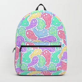Good Lil' Ghost Gang in Bright Colors Backpack