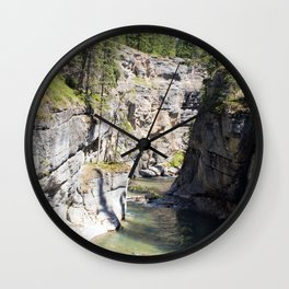 Sleepy River Wall Clock