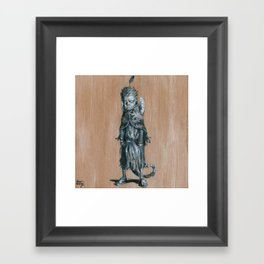 Juba Kid Framed Art Print