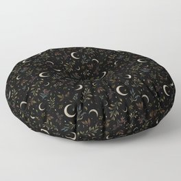 Crescent Moon Garden Floor Pillow