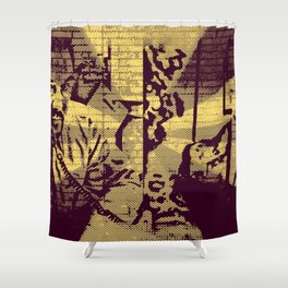 Gervais V Carell V Brent V Scott Shower Curtain