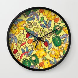 hot & spicy 2 Wall Clock