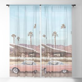 Palm Springs Sheer Curtain