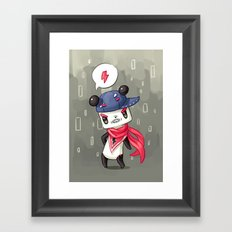 Panda 4 Framed Art Print