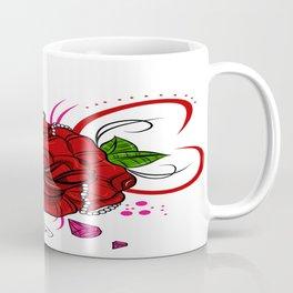 Rose & Diamonds Coffee Mug
