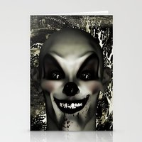 pennywise Stationery Cards featuring A Penny for your Thoughts by Texnotropio