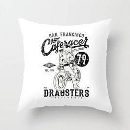 Dragster San Francisco Throw Pillow