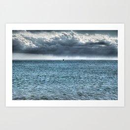 Coming Home - Falmouth, Cape Cod Art Print