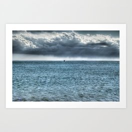 Coming Home - Falmouth, Cape Cod Art Print