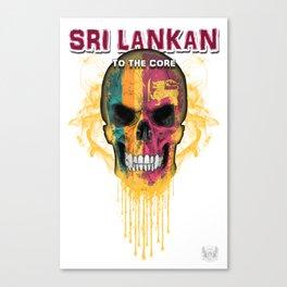 To The Core Collection: Sri Lanka Canvas Print