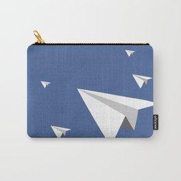 Paper Plane Fleet Carry-All Pouch