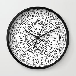 Infinite Hands of Time Wall Clock