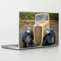 austin Laptop & iPad Skins featuring Austin 7 by Adrian Evans