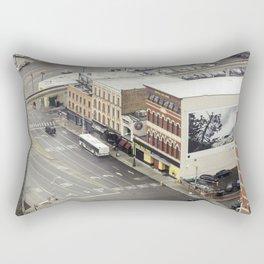 Downtown Detroit 3 Rectangular Pillow