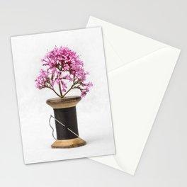 Wooden Vase Stationery Cards