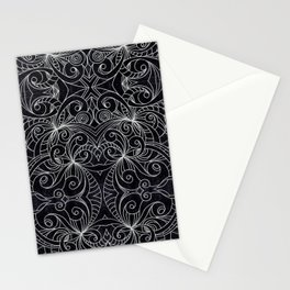 Drawing Floral Doodle G239 Stationery Cards