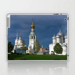Landscape with the Ancient Saint Sophia Cathedral and Vologda Kremlin in the Russian North Laptop & iPad Skin