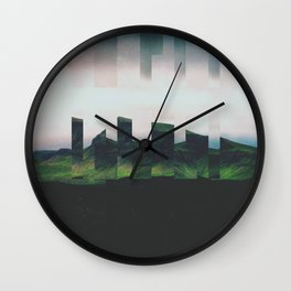 Fractions A49 Wall Clock