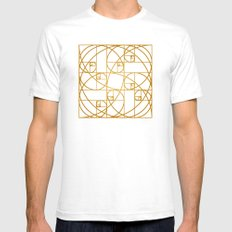 Golden Ropes SMALL Mens Fitted Tee White