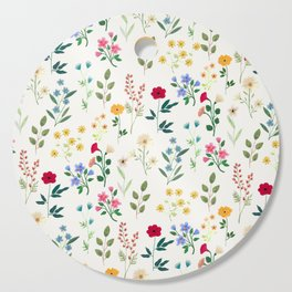 Spring Botanicals Cutting Board