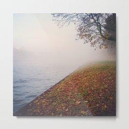 Foggy autumn Metal Print