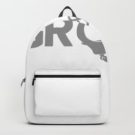Groom Handcuffs Funny Backpack