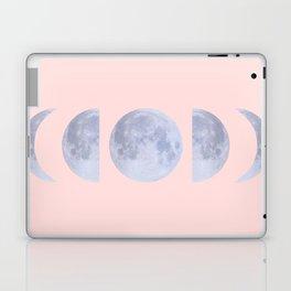 pink moon phases Laptop & iPad Skin
