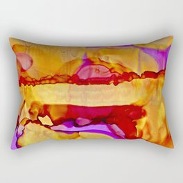 Golden Hills at Twilight Rectangular Pillow