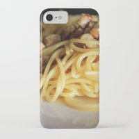 pasta iPhone & iPod Cases featuring Pasta by alemazza