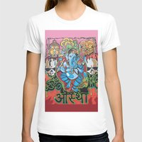 hindu T-shirts featuring Hindu God by Vic Piano