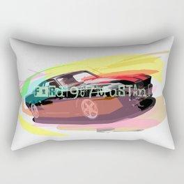 Ford Mustang Car Rectangular Pillow