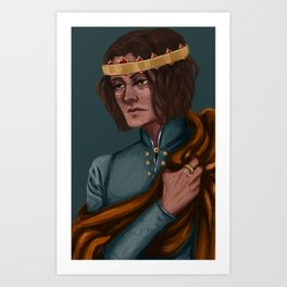 My sweet prince Art Print
