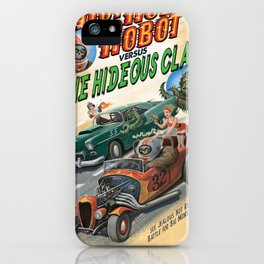 Hot Rod Robot versus the Hideous Claw iPhone Case