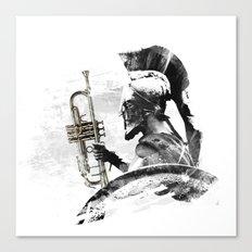 Trumpet Warrior Canvas Print
