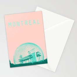 Montreal Biosphere Pastel Stationery Cards