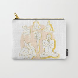 Let's do Yoga Carry-All Pouch