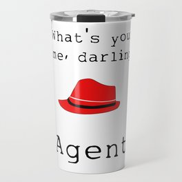 What's your name, darling? Travel Mug