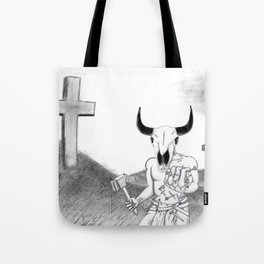 Lord of Golgotha Tote Bag