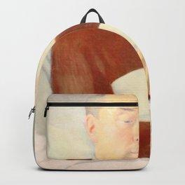 Maurice Denis - Portrait of Abbot Vallet Backpack