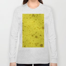 Yellow sponge Long Sleeve T-shirt
