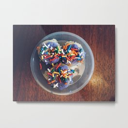 Mini Donuts Metal Print