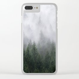 Home Is A Feeling Clear iPhone Case