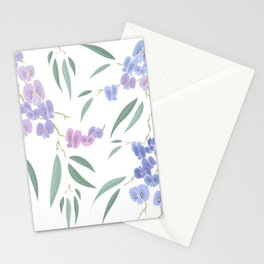Australian native lilac Stationery Cards