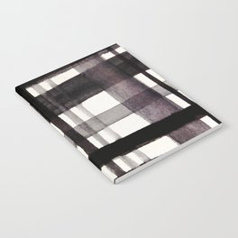 Painterly Plaid Notebook