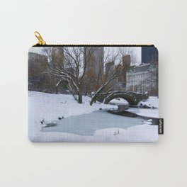 White Central Park3 Carry-All Pouch