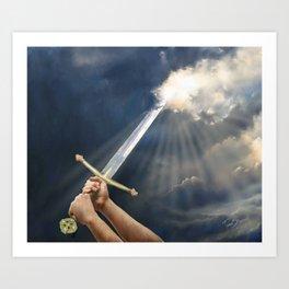 Sword of the Spirit Art Print