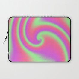 Tutti Frutti Ribbon Candy Fractal Laptop Sleeve
