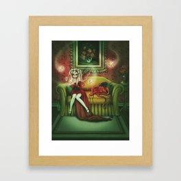 Absinthe Fever Framed Art Print