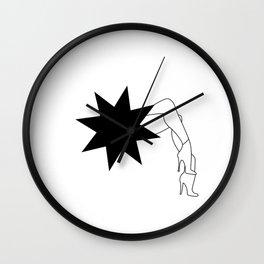 Dynamite Girl Wall Clock